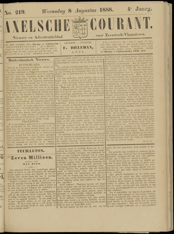 Axelsche Courant 1888-08-08