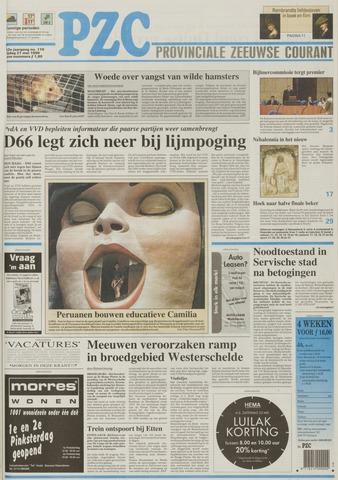 Provinciale Zeeuwse Courant 1999-05-21