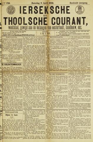 Ierseksche en Thoolsche Courant 1899-04-08