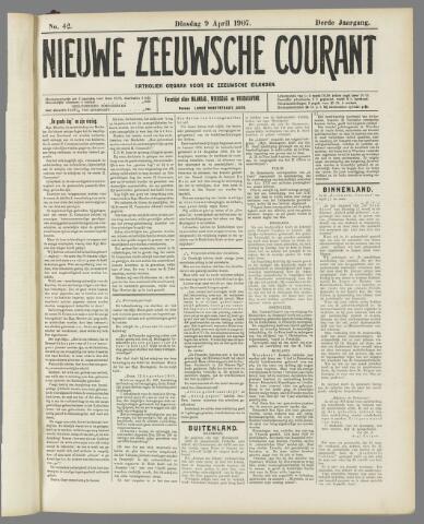 Nieuwe Zeeuwsche Courant 1907-04-09