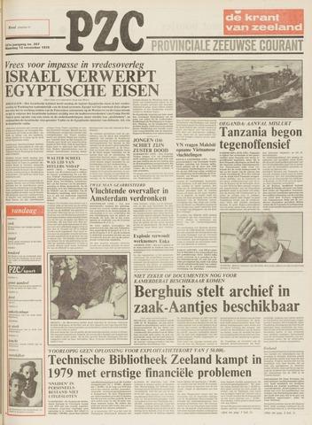 Provinciale Zeeuwse Courant 1978-11-13