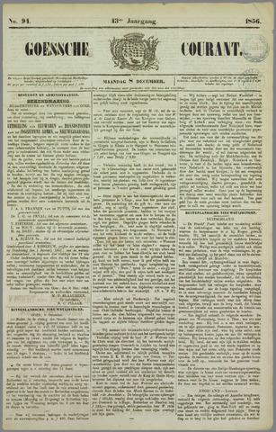 Goessche Courant 1856-12-08
