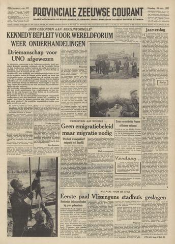 Provinciale Zeeuwse Courant 1961-09-26