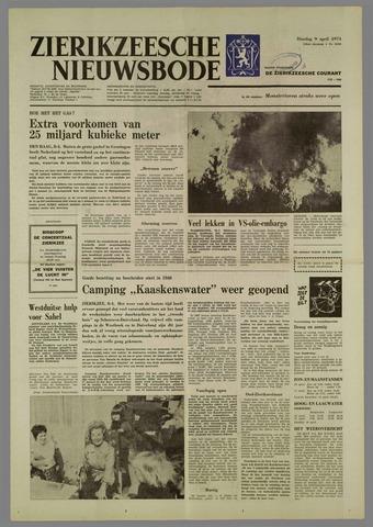 Zierikzeesche Nieuwsbode 1974-04-09