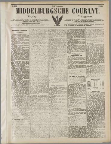 Middelburgsche Courant 1903-08-07