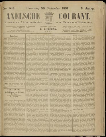 Axelsche Courant 1891-09-30