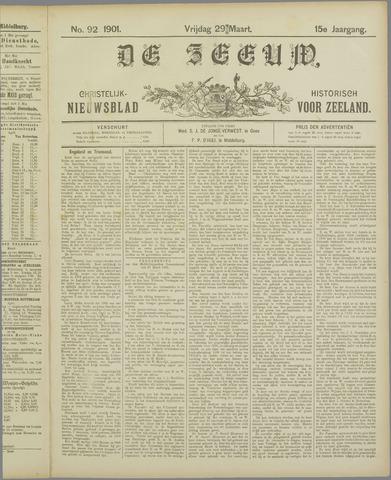 De Zeeuw. Christelijk-historisch nieuwsblad voor Zeeland 1901-03-29