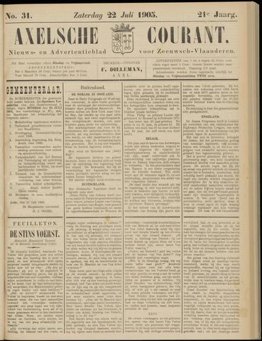 Axelsche Courant 1905-07-22