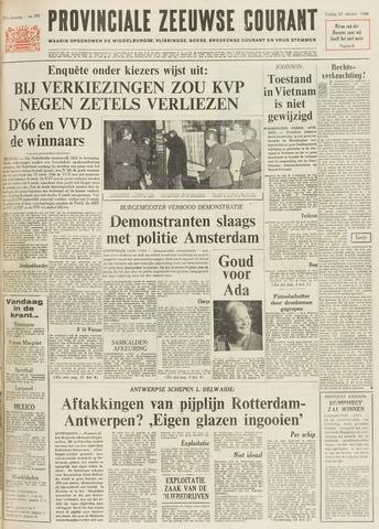 Provinciale Zeeuwse Courant 1968-10-25