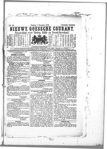 Nieuwe Goessche Courant 1879-12-02