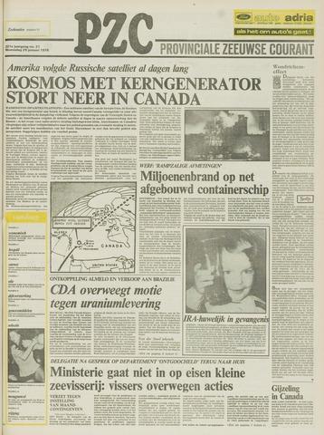 Provinciale Zeeuwse Courant 1978-01-25