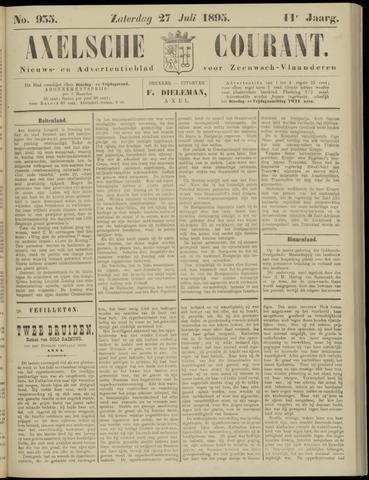 Axelsche Courant 1895-07-27