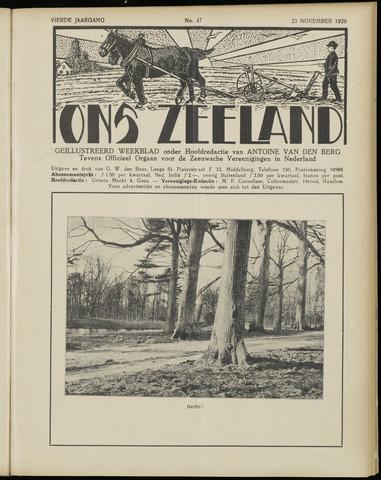 Ons Zeeland / Zeeuwsche editie 1929-11-23