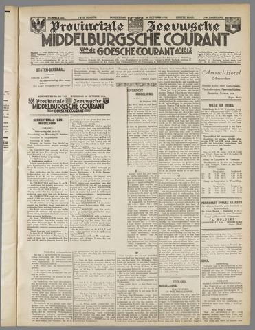 Middelburgsche Courant 1933-10-26