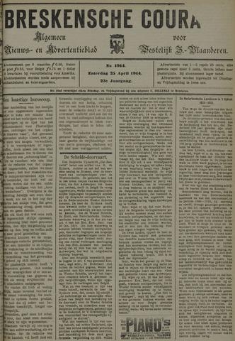 Breskensche Courant 1914-04-25