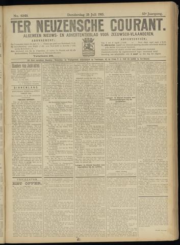 Ter Neuzensche Courant. Algemeen Nieuws- en Advertentieblad voor Zeeuwsch-Vlaanderen / Neuzensche Courant ... (idem) / (Algemeen) nieuws en advertentieblad voor Zeeuwsch-Vlaanderen 1915-07-15