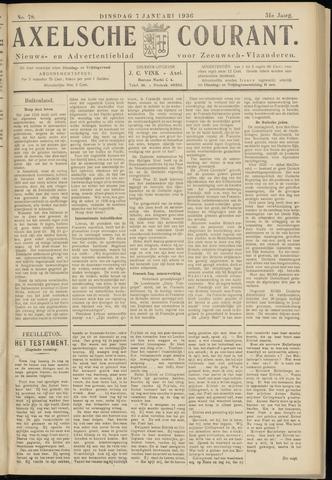 Axelsche Courant 1936-01-07