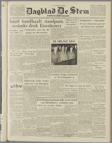 de Stem 1957-02-22