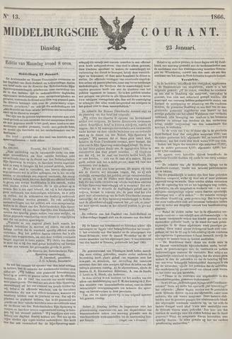 Middelburgsche Courant 1866-01-23