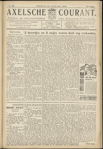 Axelsche Courant 1939-01-20
