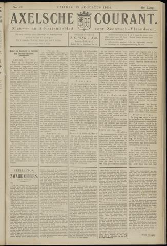 Axelsche Courant 1924-08-29