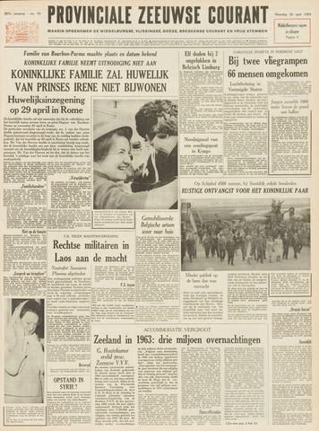 Provinciale Zeeuwse Courant 1964-04-20
