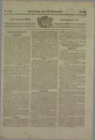 Goessche Courant 1842-02-17