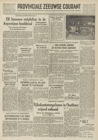Provinciale Zeeuwse Courant 1953-05-02