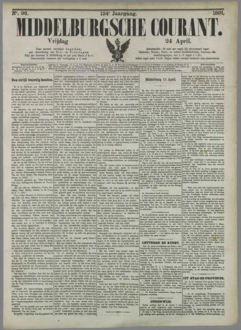 Middelburgsche Courant 1891-04-24