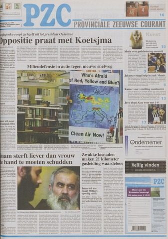 Provinciale Zeeuwse Courant 2004-11-24