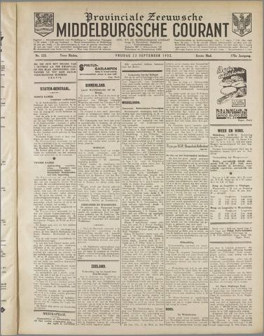 Middelburgsche Courant 1932-09-23