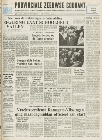 Provinciale Zeeuwse Courant 1972-09-05