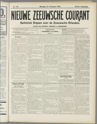 Nieuwe Zeeuwsche Courant 1905-02-14