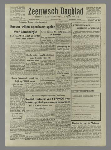 Zeeuwsch Dagblad 1958-09-01
