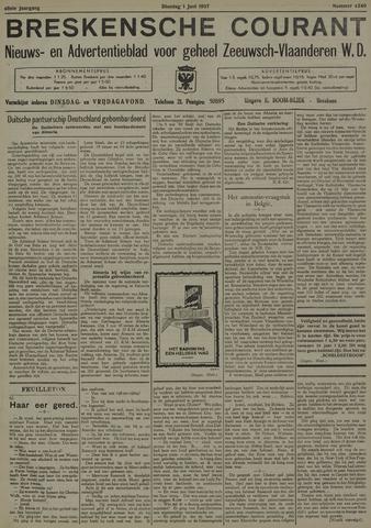 Breskensche Courant 1937-06-01