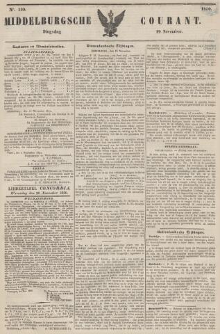 Middelburgsche Courant 1850-11-19