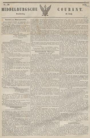 Middelburgsche Courant 1851-06-26