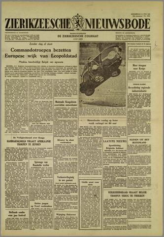 Zierikzeesche Nieuwsbode 1960-07-14