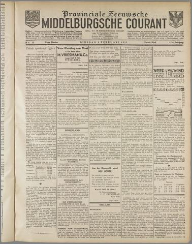 Middelburgsche Courant 1932-02-09