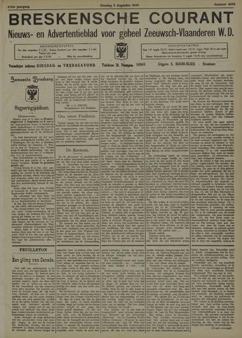 Breskensche Courant 1938-08-02
