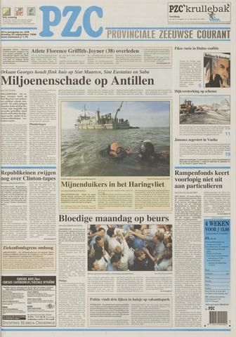 Provinciale Zeeuwse Courant 1998-09-22
