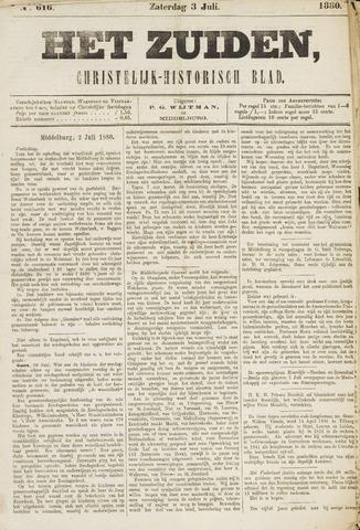 Het Zuiden, Christelijk-historisch blad 1880-07-03