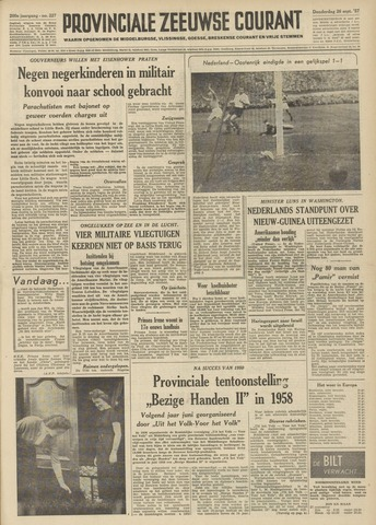 Provinciale Zeeuwse Courant 1957-09-26