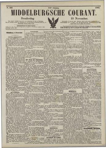 Middelburgsche Courant 1902-11-13