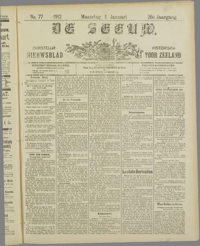 De Zeeuw. Christelijk-historisch nieuwsblad voor Zeeland 1912