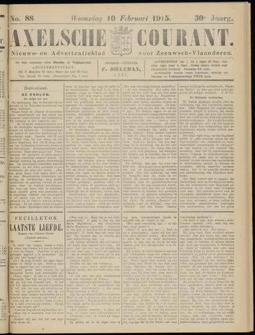 Axelsche Courant 1915-02-10