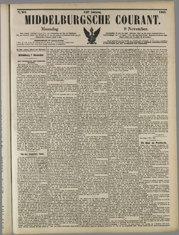 Middelburgsche Courant 1903-11-09
