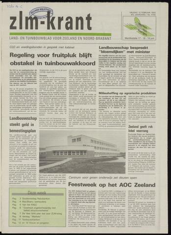 Zeeuwsch landbouwblad ... ZLM land- en tuinbouwblad 1993-02-12
