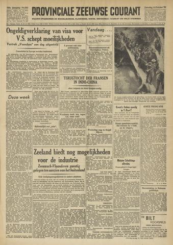 Provinciale Zeeuwse Courant 1950-10-14