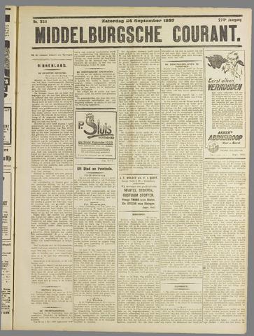 Middelburgsche Courant 1927-09-24